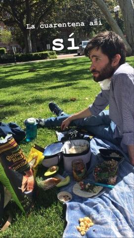 social distance picnic
